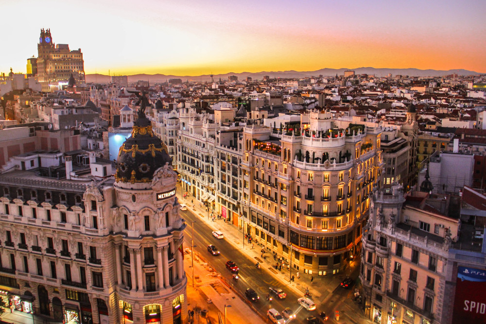 Madrid by Florian Wehde